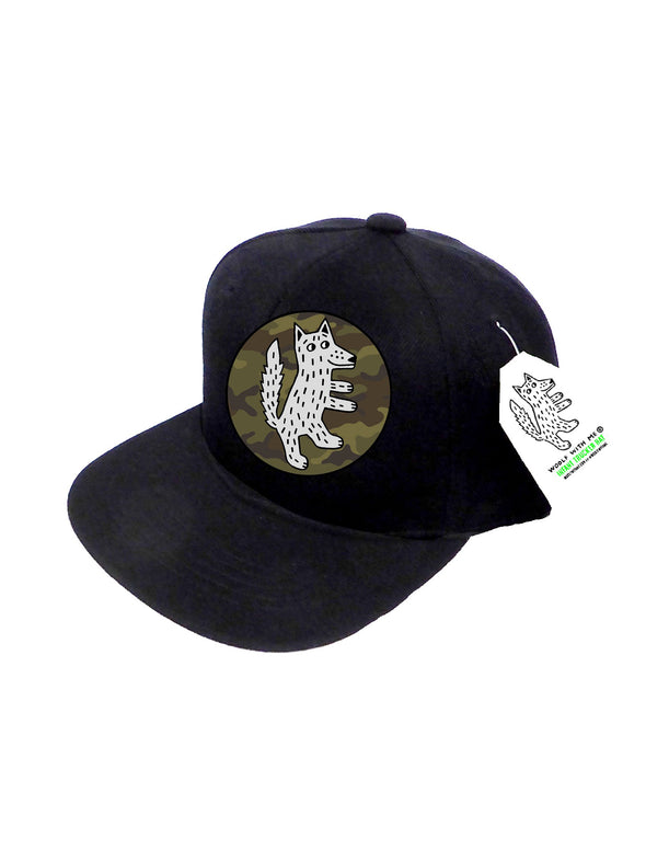 INFANT Trucker Hat Wolf Camouflage 0M-12M // Same Day Shipping!