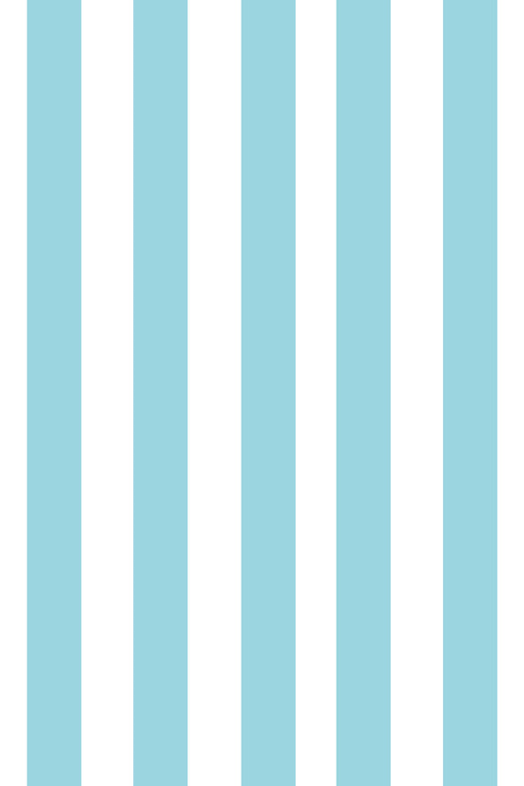 Woolf With Me Fitted Crib Sheet Stripes color_island-paradise
