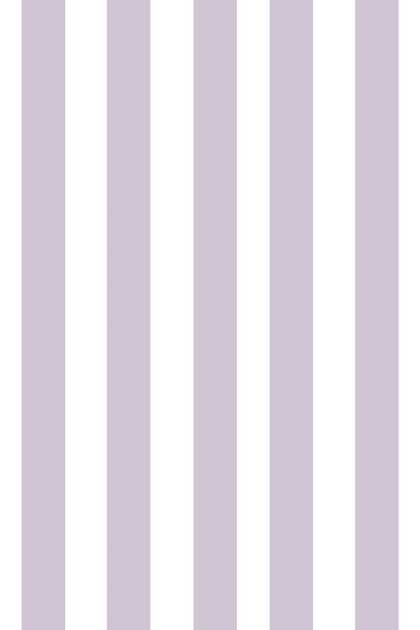 Woolf With Me Fitted Crib Sheet Stripes color_lavender