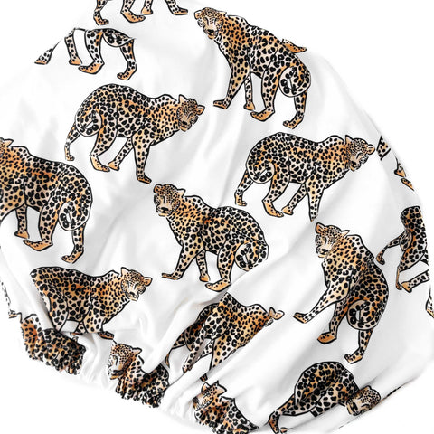 Organic Changing Pad Cover Leopard