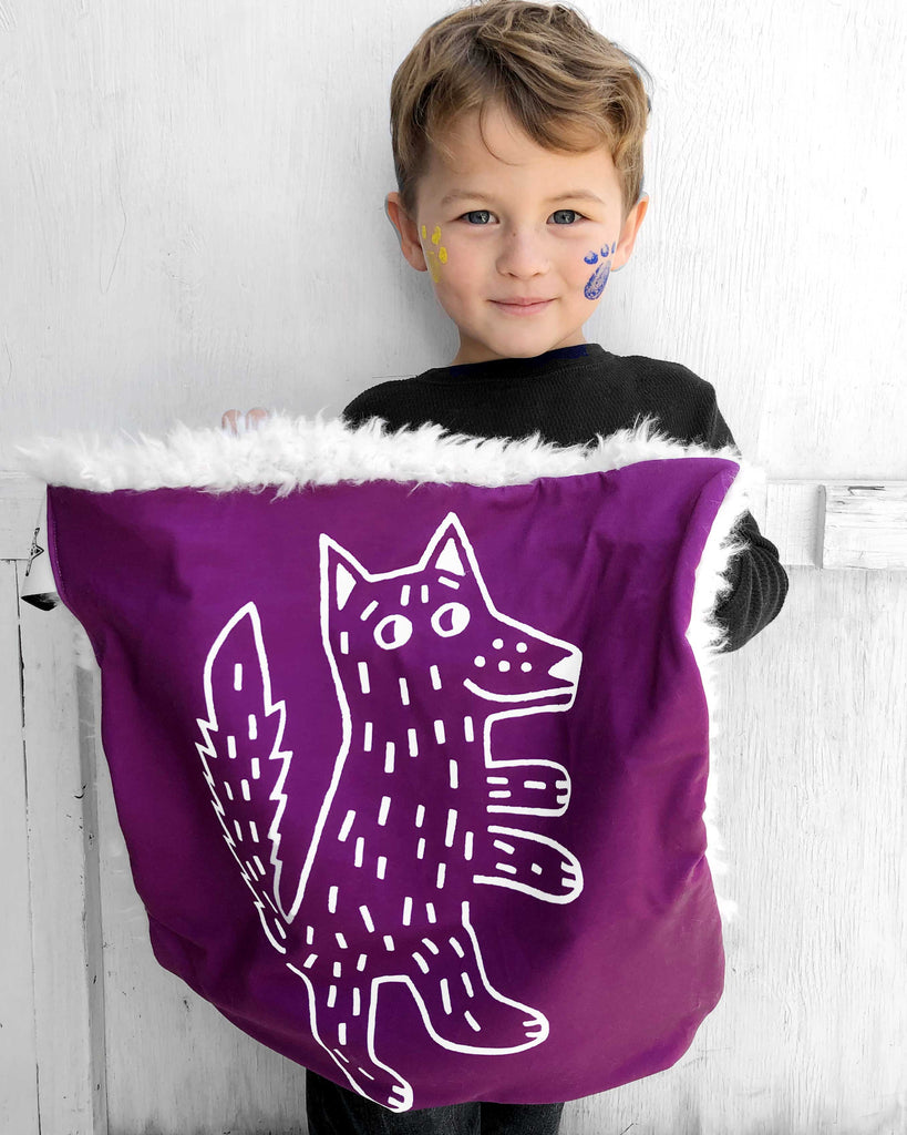 Lovey, Security Blanket Wolf
