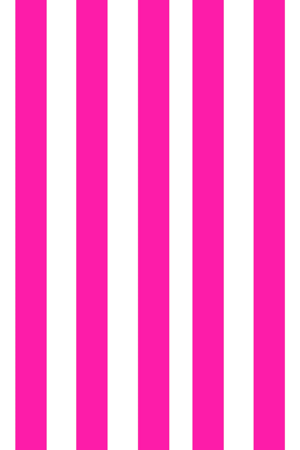 Woolf With Me Fitted Crib Sheet Stripes color_magenta