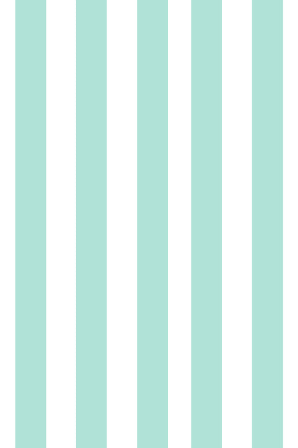 Woolf With Me Fitted Crib Sheet Stripes color_mint