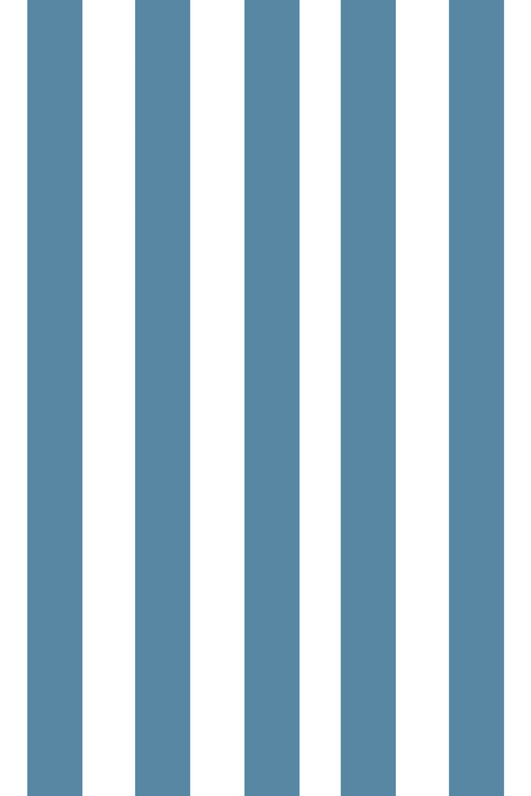 Woolf With Me Fitted Crib Sheet Stripes color_niagara