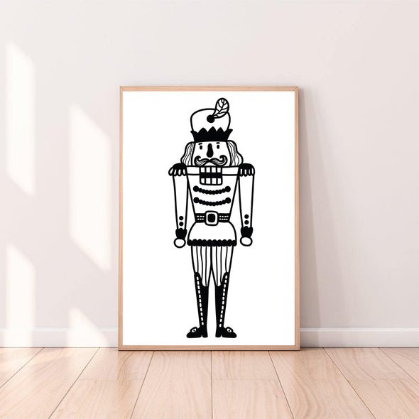Wall Art Christmas Nutcracker