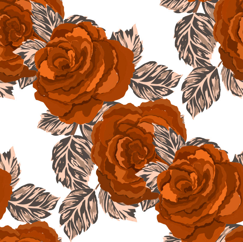 Lovey, Security Blanket 70's Roses