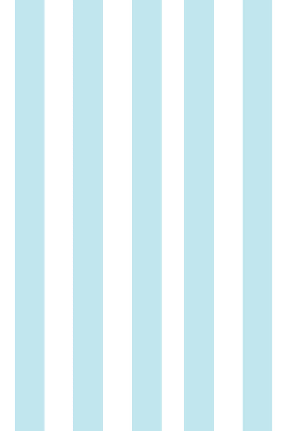 Woolf With Me Fitted Crib Sheet Stripes color_pale-blue