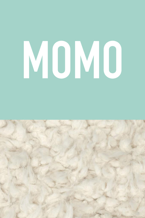 Woolf With Me Organic Personalized Baby Blanket color_pale-turquoise
