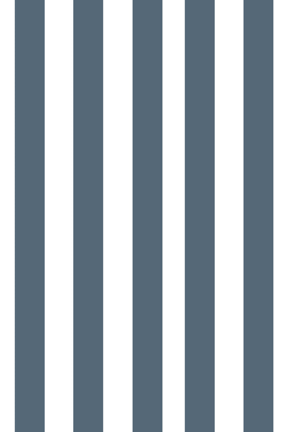 Woolf With Me Fitted Crib Sheet Stripes color_paynes-gray