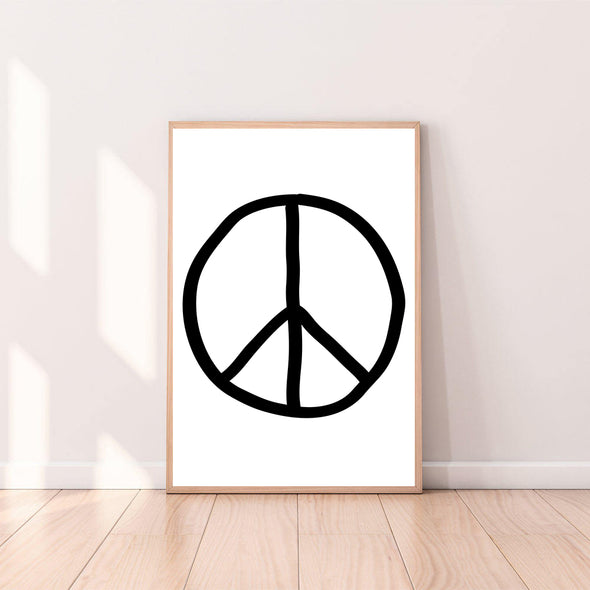 Wall Art Peace Sign