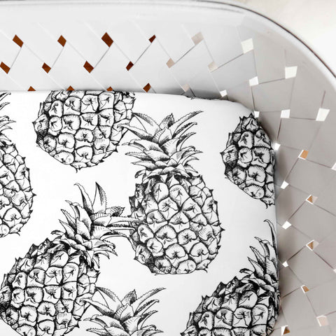 Organic Crib Sheet Pineapples