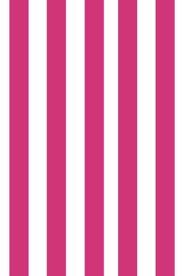 Woolf With Me Fitted Crib Sheet Stripes color_pink-yarrow
