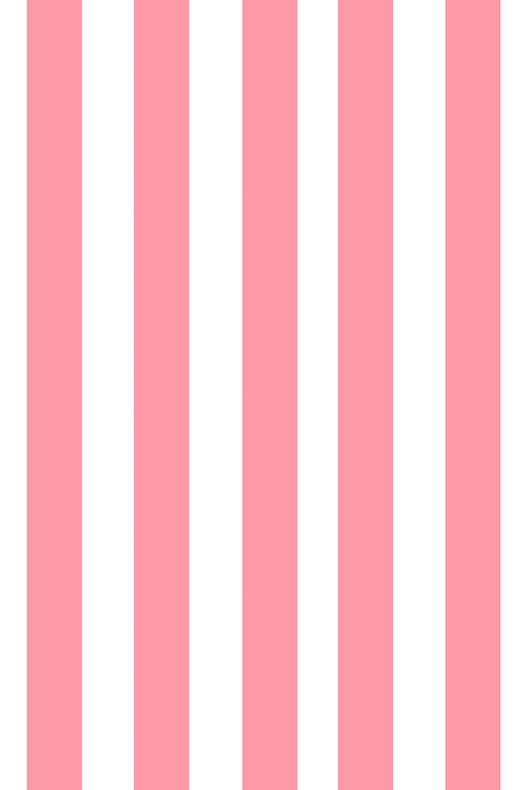 Woolf With Me Fitted Crib Sheet Stripes color_pink