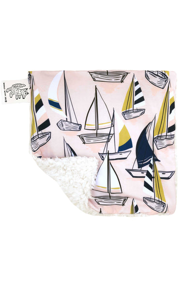 Lovey, Security Blanket Sailboat // Same Day Shipping!