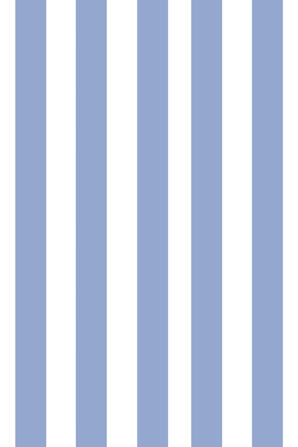 Woolf With Me Fitted Crib Sheet Stripes color_serenity