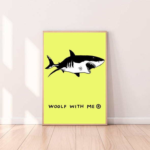 Wall Art Shark