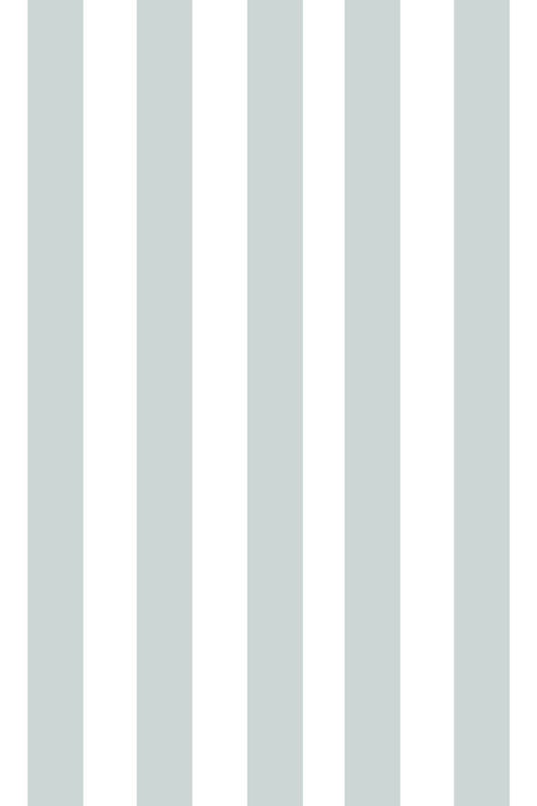 Woolf With Me Fitted Crib Sheet Stripes color_sky