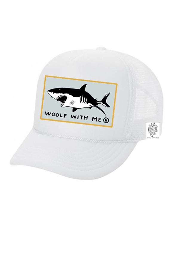 KIDS Trucker Hat Shark 5Y-10Y color_white