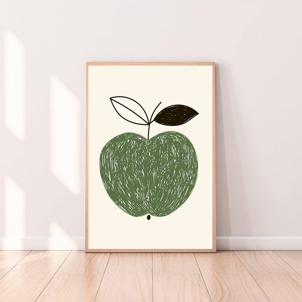 Wall Art Apple