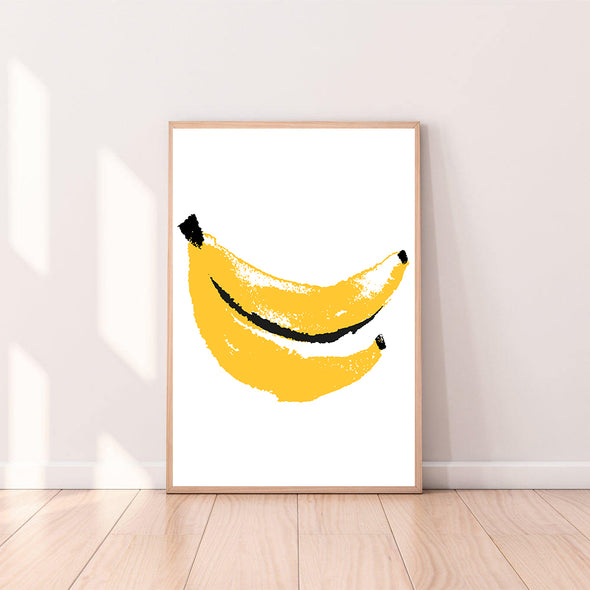 Wall Art Banana color_primrose-yellow