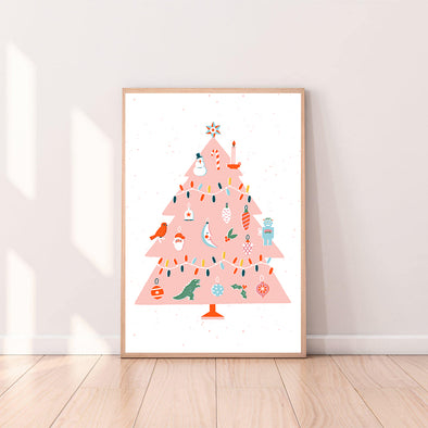 Wall Art Christmas Tree