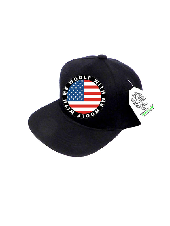 PREORDER INFANT Trucker USA Flag 0M-12M
