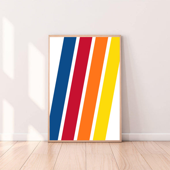 Wall Art Stripes