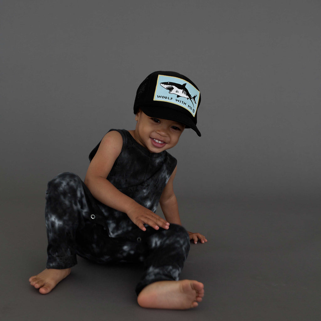Kids Trucker Hat Shark // Same Day Shipping!