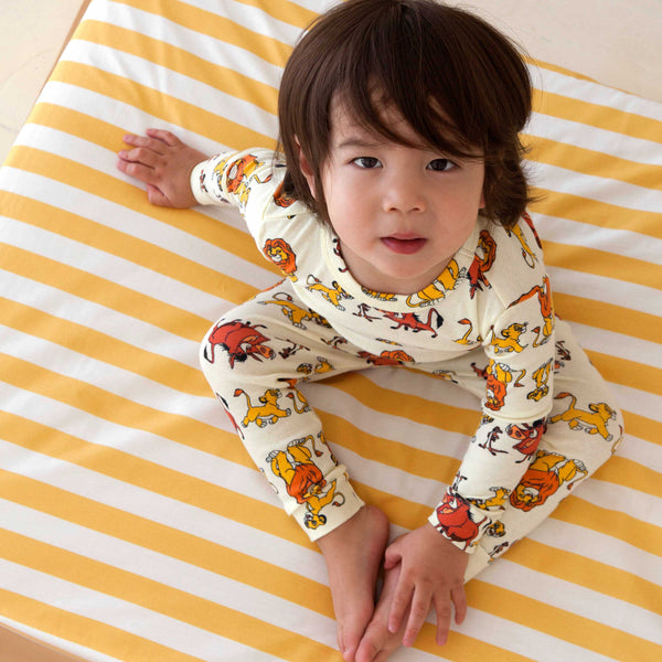 Crib Sheet Primrose Yellow Stripes // Same Day Shipping!