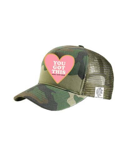 TODDLER Trucker Hat You Got This 2Y-4Y // Same Day Shipping!