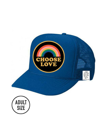ADULT Trucker Hat Choose Love // Same Day Shipping!