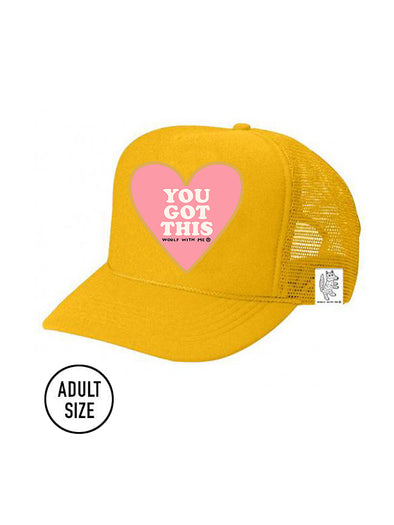 ADULT Trucker Hat You Got This // Same Day Shipping!