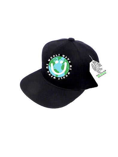 INFANT Trucker Hat Mother Earth/Happy Face 0M-12M // Same Day Shipping!
