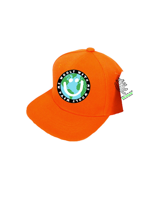 PREORDER, INFANT Trucker Hat Mother Earth/Happy Face 0M-12M