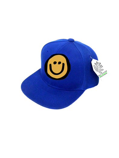 INFANT Trucker Hat Happy Face 0M-12M // Same Day Shipping!