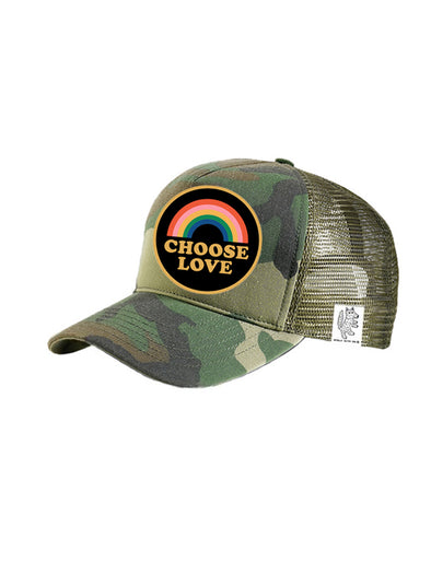 TODDLER Trucker Hat Choose Love 2Y-4Y // Same Day Shipping!