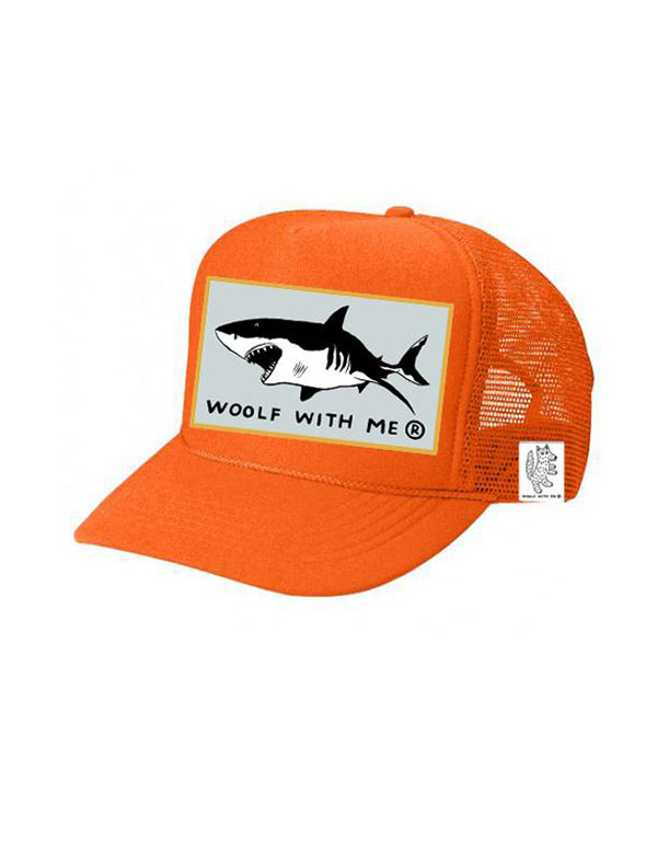 KIDS Trucker Hat Shark 5Y-10Y // Same Day Shipping!