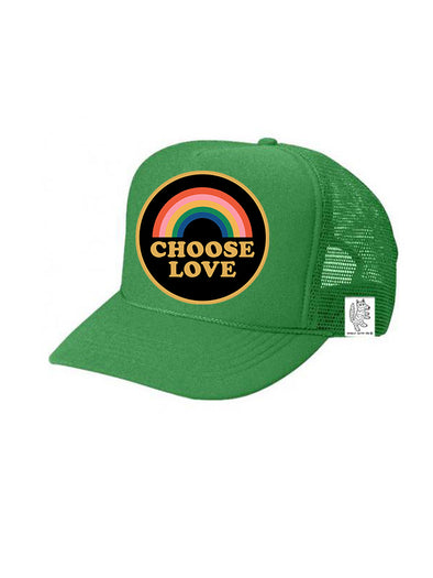 KIDS Trucker Hat Choose Love, 5Y-10Y // Same Day Shipping!