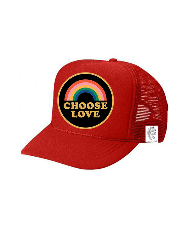 PREORDER, KIDS Trucker Hat Choose Love 5Y-10Y