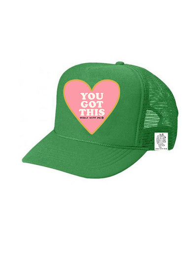 KIDS Trucker Hat You Got This, 5Y-10Y // Same Day Shipping!