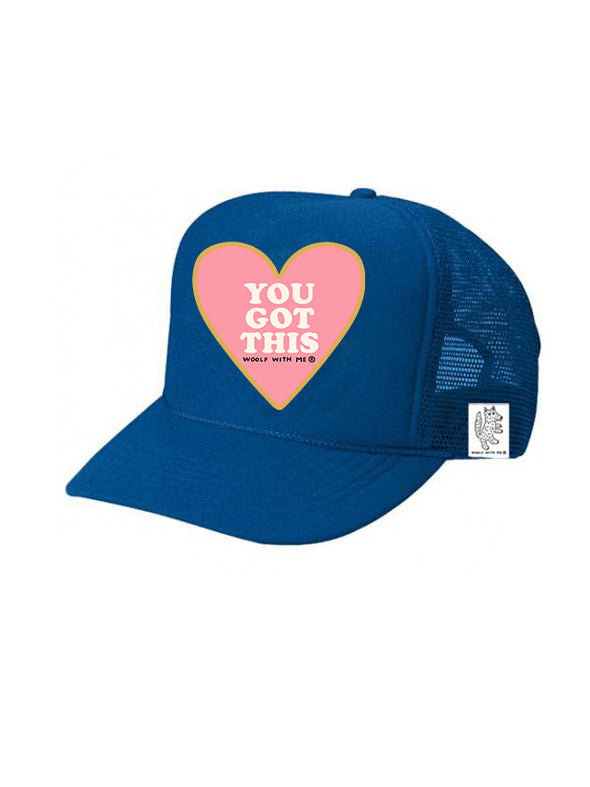 KIDS Trucker Hat You Got This 5Y-10Y // Same Day Shipping!