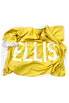 Woolf With Me Organic Personalized Baby Blanket color_primrose-yellow