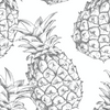 Organic Nursing Pillow Cover Pineapple - Woolf With Me® - 10