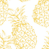 Organic Nursing Pillow Cover Pineapple - Woolf With Me® - 12