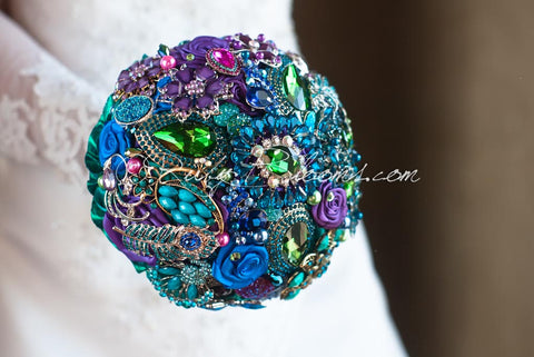 TALES OF MAHARAJAH JEWELED PEACOCK WEDDING