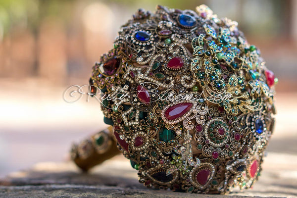 Arabian Princess Brooch Bouquet