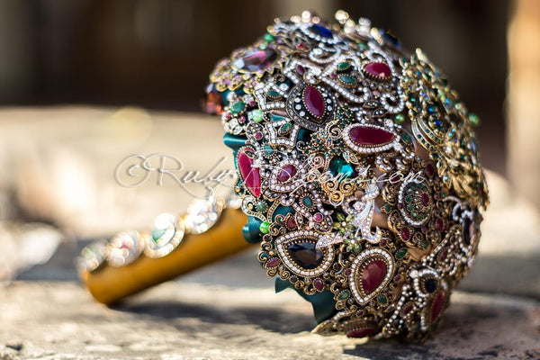 Arabian Princess Wedding Bouquet