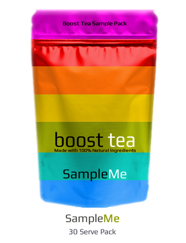 SampleMe - Selection of Boost Tea