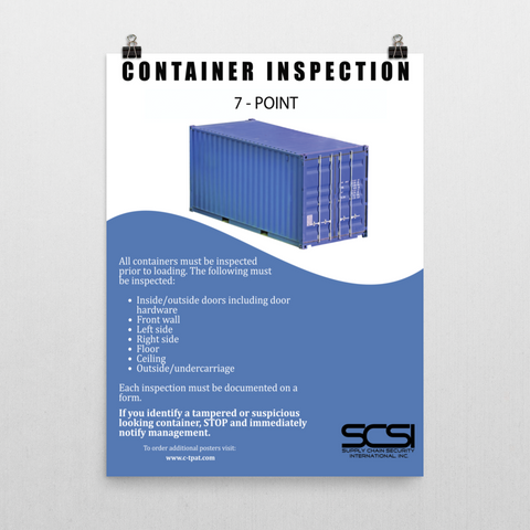 7-Point Ocean Container Inspection