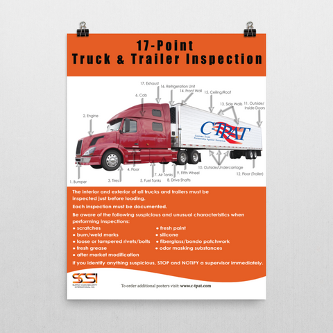 17 Point Truck & Trailer Inspection
